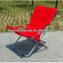 Folding outdoor lounger