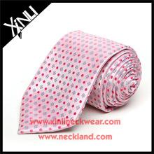 100% Seide Jacquard Woven handgemachte Krawatte Hochzeit Dekoration