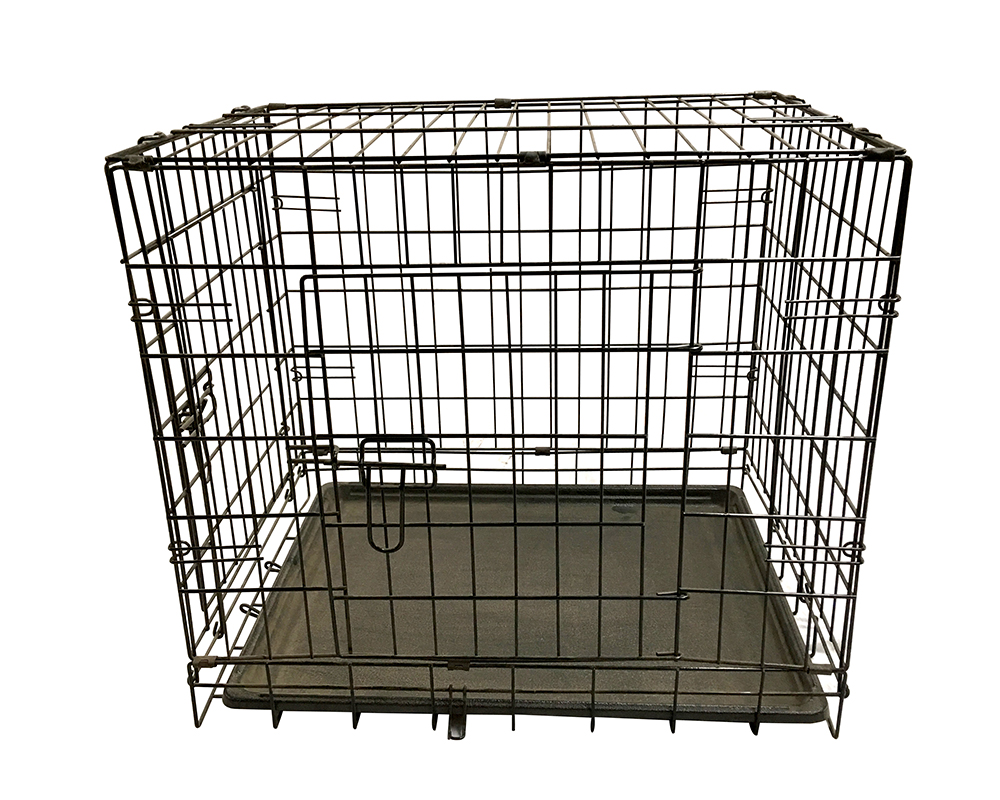 Galvanized Dog Cage
