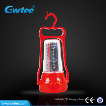 High capacity handheld 35led solar rechargeable lantern
