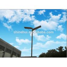 2015 de ahorro de energía 12v led integrada luz de calle solar con chip bridgelux