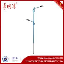 Dekorative und antike Straßenbeleuchtung Pole mit Waffen und Pulverbeschichtung