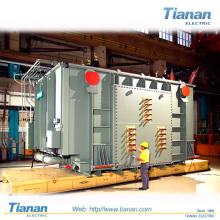 Transformador elétrico do forno do arco