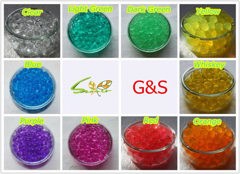 Water Absorbing Beads
