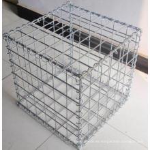 Caja de Goxabion de alambre soldado galvanizado caliente
