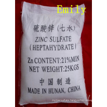High Quality Zinc Sulphate Fertilizer Grade CAS No. 7446-20-0
