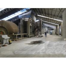 Maquinaria de producción automática de MDF