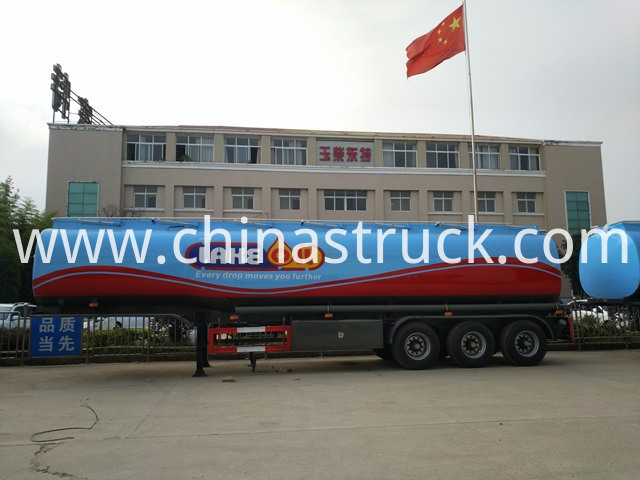 42000 Liters Oil Tanker Trailer