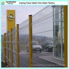 Hochwertiger 3D geschweißter Draht-Ineinander greifen-Zaun für China-Fabrik
