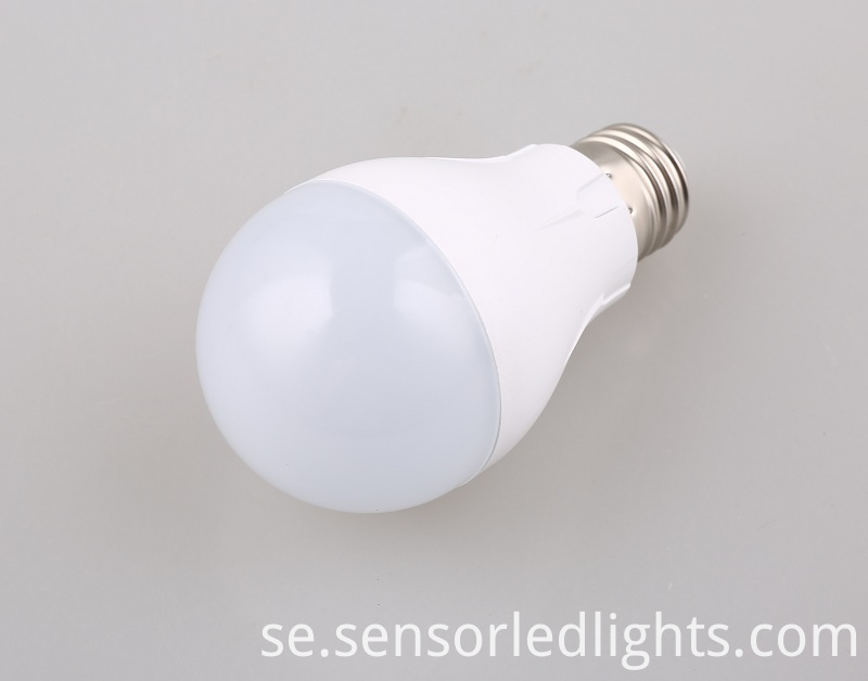radar sensor light bulb