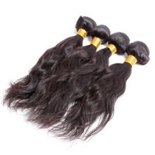 5А 1b цвет необработанные естественная волна двойной уток виргинский бразильский волос