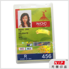 Id Card Laminate Holographic Pouch with UV Printing Service