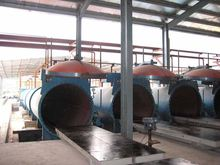Textile Sand Lightweight Aac Brick Autoclave / Aac Plant, Φ2m