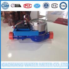 Parte del medidor de agua digital con válvula de motor
