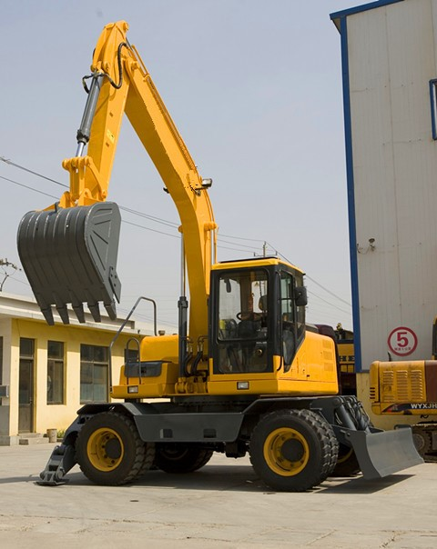 Wheel Excavator for Construction Machinery