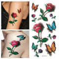 3D Free Body Tattoo Sticker for Women