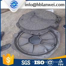 B125 bueiro ferro dúctil cobrir com corrente de metal
