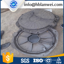 B125 Ductile Iron Manhole Cover with metal chain