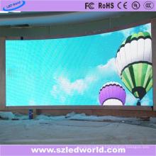 O arco interno SMD fixo curvou o anúncio curvado da fábrica da tela do painel de exposição do diodo emissor de luz da tela (P3, P4, P5, P6)