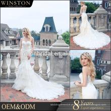 Melhores vendas de qualidade para vestidos de noiva baratos feitos em vestidos de china feitos na China