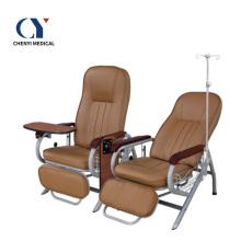 Silla de infusión médica de la silla de transfusión de los muebles del hospital