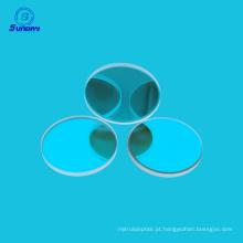 650nm Caf2 ZnSeg filtro ótico de alta qualidade