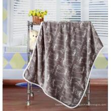 Super Soft Flannel Baby Blanket / Baby Throw / Cartoon Cat