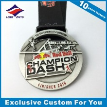 Qualität 3D kundenspezifische Logo-Metallmedaille für Auszeichnung