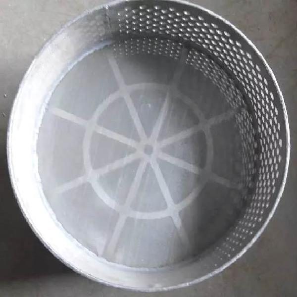 stainless steel wire mesh filter pocket