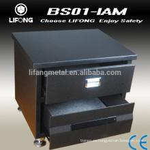Gabinete caja fuerte digital electrónico con cajón abierto por código