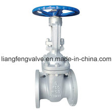 ANSI/Amse Flanged Ends Gate Valve, Cast Steel