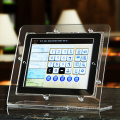 Point of Sale Acrylic Counter Display for Tablet PC