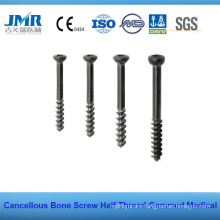 Hb 6.5mm 4.0mm Half Thread Cancelouus Bone Screw