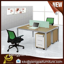 2 seater simple design office workstation modular