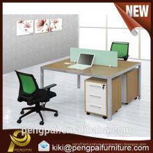 2 seater simple design office workstation modular
