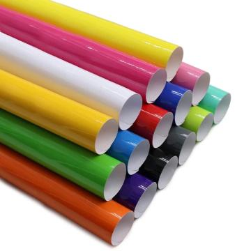 cutting color vinyl decorative vinyl