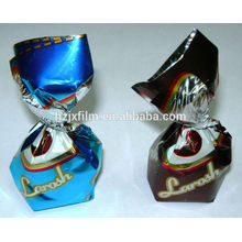 PET Candy Plastic Twist Film for candy wrapper