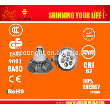 COB SMD high quality cost-effective spot light AC100-240V 15w gu10 led bulb
