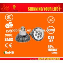CE rohs, светодиод, высокое качество привели прожектор, 7w лампочки par30, e27 Светодиодные пятно лампы