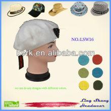 LSW16 Ningbo Lingshang Fashion Custom Snapback Wholesale wool winter hat