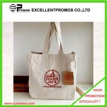 El logotipo superventas imprimió el bolso de encargo de calidad superior del algodón (EP-B9089)
