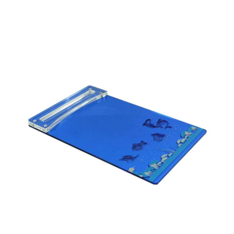 Blue Plastic Clipboard