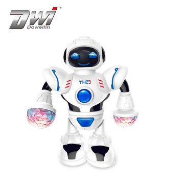 DWI New design remote control toy electric light dancing set robot made in china