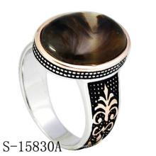 Jóia da forma 925 anel de dedo de prata esterlina