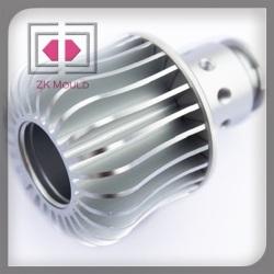 Automobile LED aluminum die casting Headlights