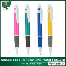 Banco de papelería pluma de bolígrafo de plástico
