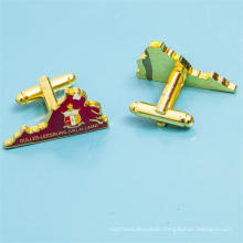 Custom Metal Gold Cufflinks for Promotional Gift