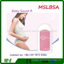 MSLBSA 2016 Fabrik Preis Baby Sound Maschine Hand gehalten Baby Sound Preis