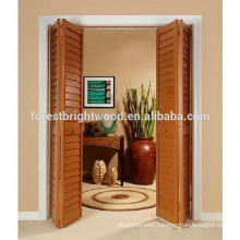 Latest Design Interior Louvered Wooden Door