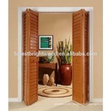 Latest Design Interior Louvered Wooden Door